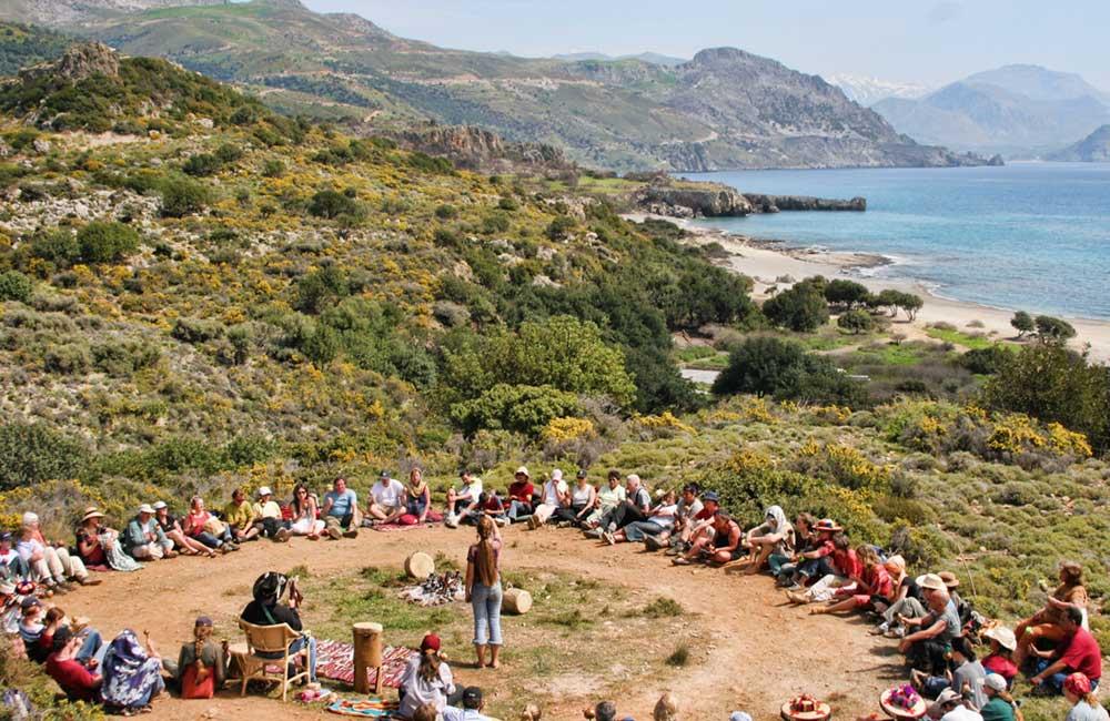 Annual shamanic retreat on Crete, Greece